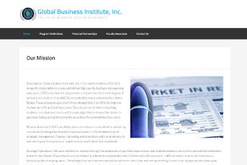 GBI.education Website